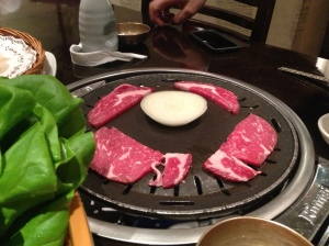 myung ga raw meat